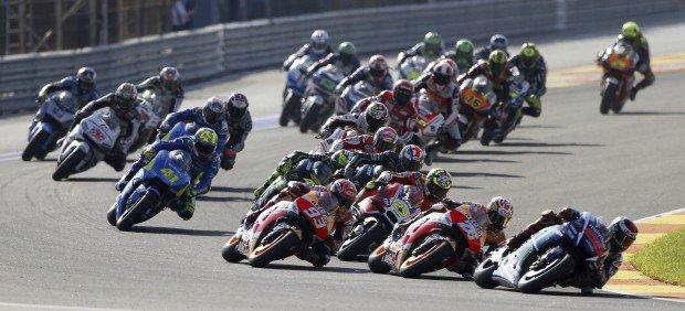 El Moto GP de Valencia, la carrera más vista de la historia