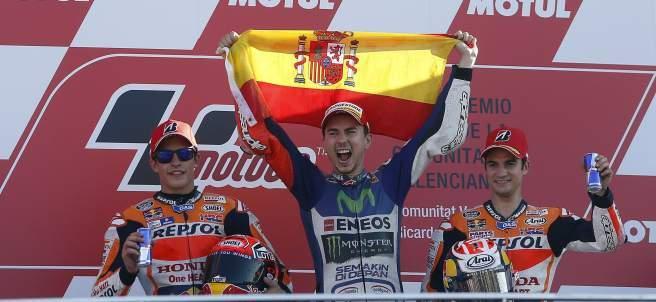 Jorge Lorenzo Tricampeón del Mundo de MotoGP