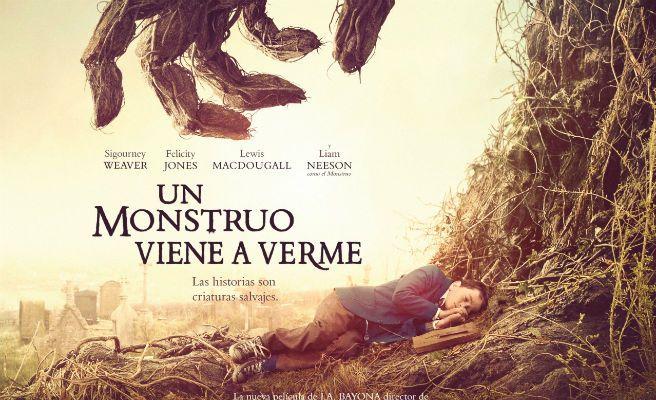 'Un monstruo viene a verme', número uno en taquilla y mejor estreno español del año