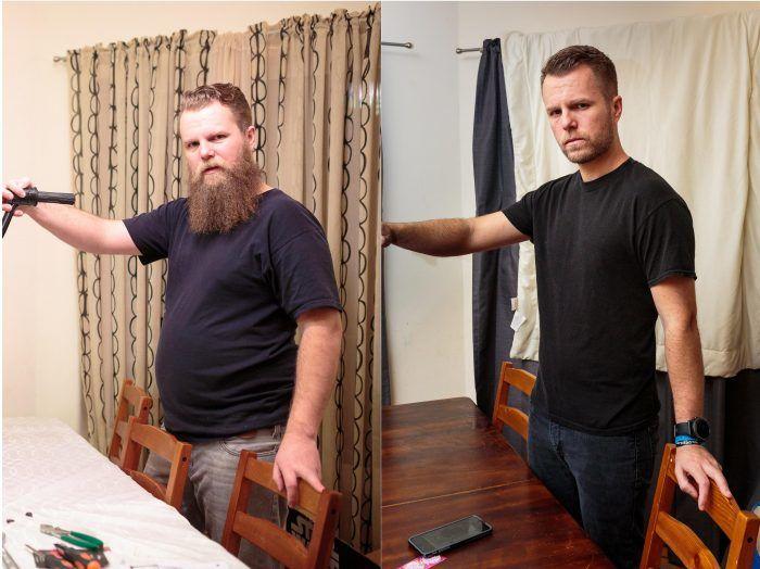 Increíble transformación de este Hombre al dejar de beber por un año entero