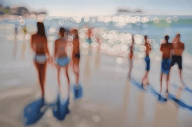 Estas increíbles pinturas muestran como se ve el mundo un míope