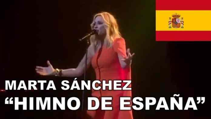 marta-sanchez-himno-españa