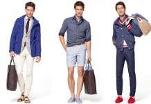 estilo masculino primaveral