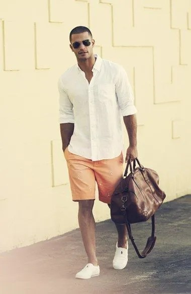 camisas blancas hombre