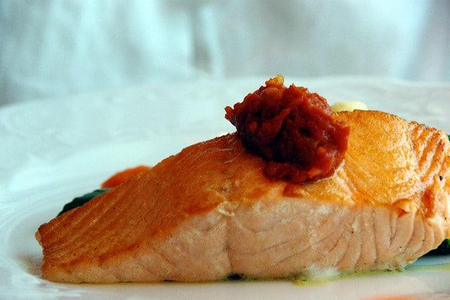 alimentos saludables salmón