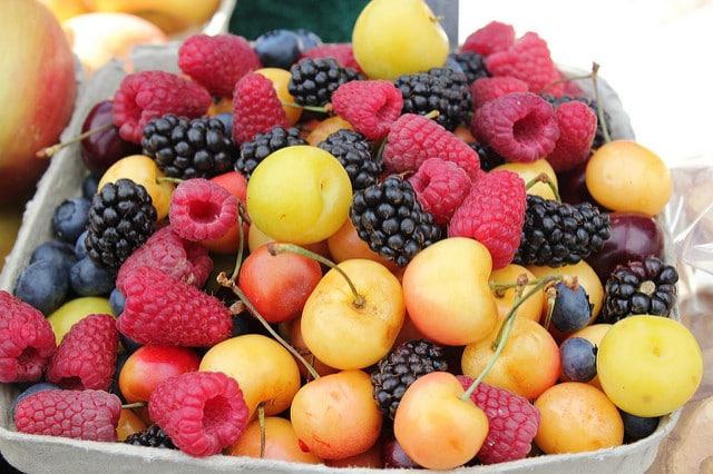 desayunos saludables fruta