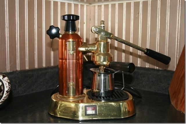 Real Brass Or Fake Brass Re Used La Pavoni Europiccola