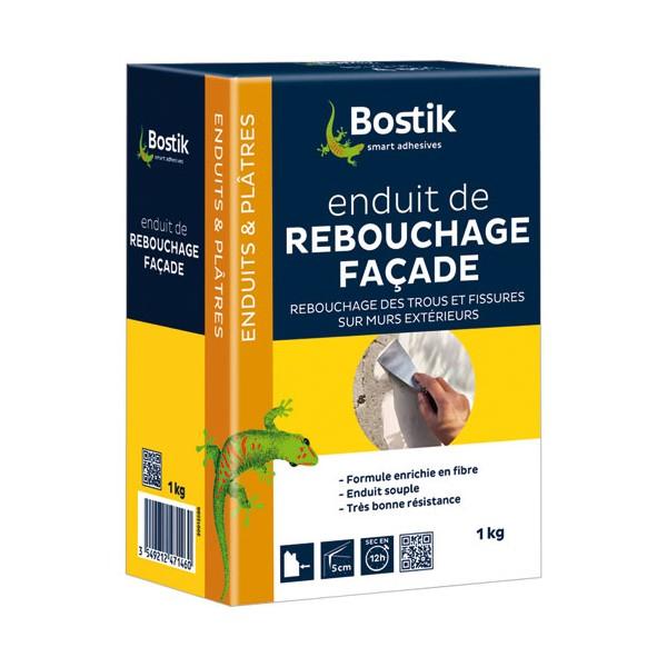 Enduit De Rebouchage Faade Poudre 1 Kg 30604400 Bostik Home Boulevard
