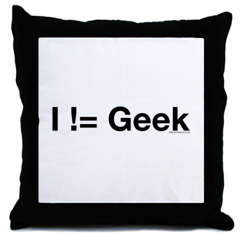 geek cushion