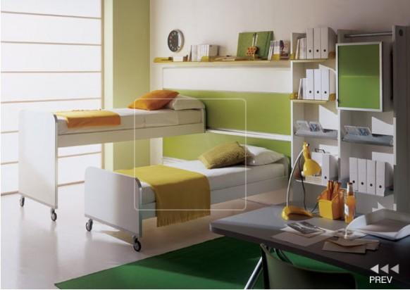 kids room bunk bed