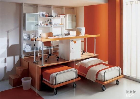 kids room space arrangement