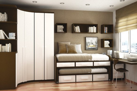 conserving space room