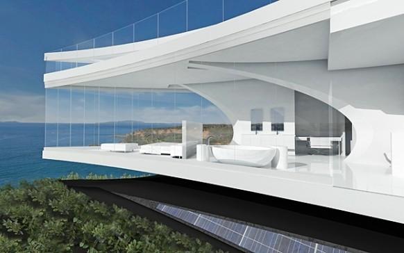 ocean home wedge view