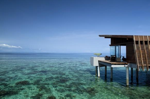 beach house sea