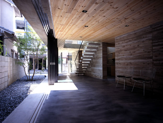 Avant-Garde Modern Furniture Blog: A very modern House in ... on Covered Outdoor Living Area id=49374