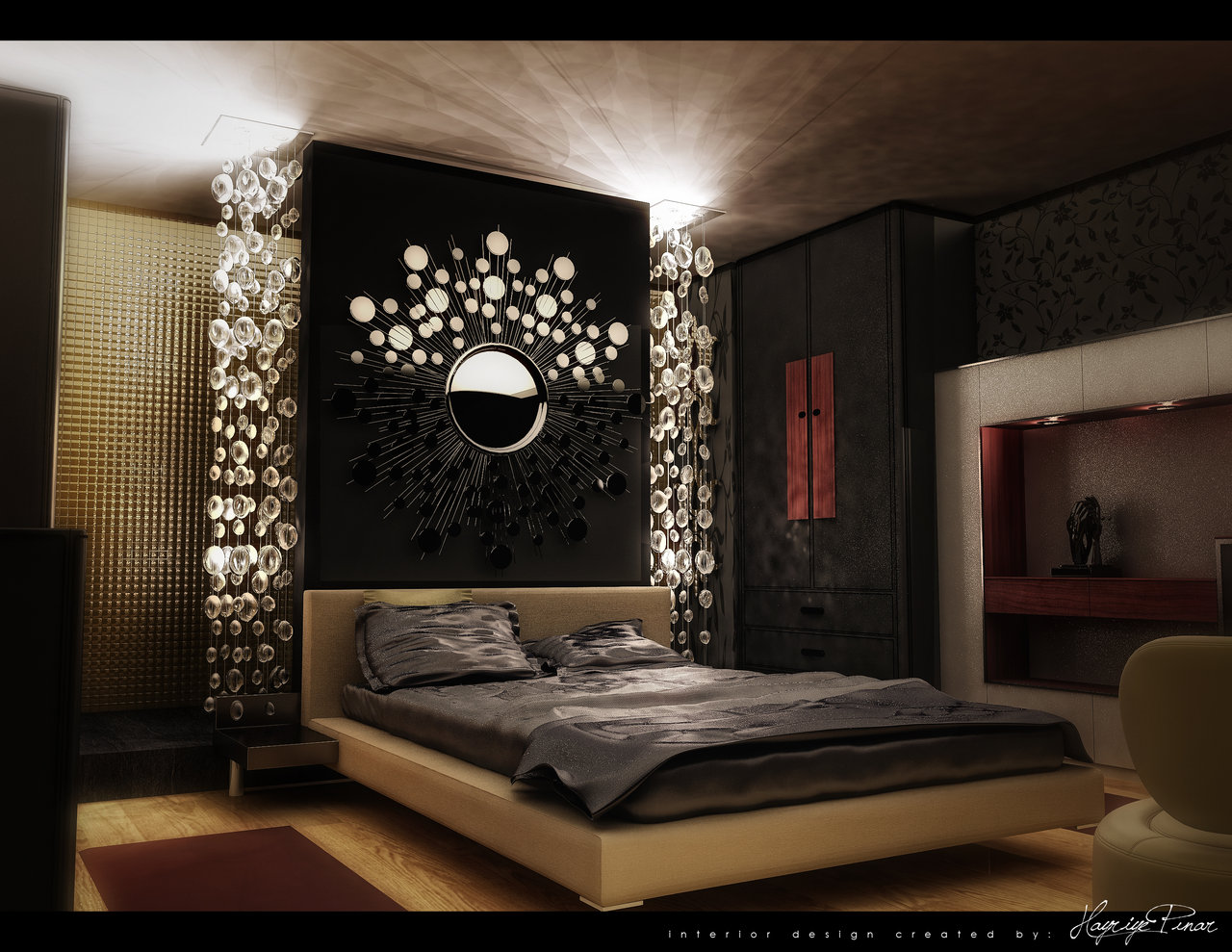 Modern, Colorful Bedrooms on Room Decore  id=42808