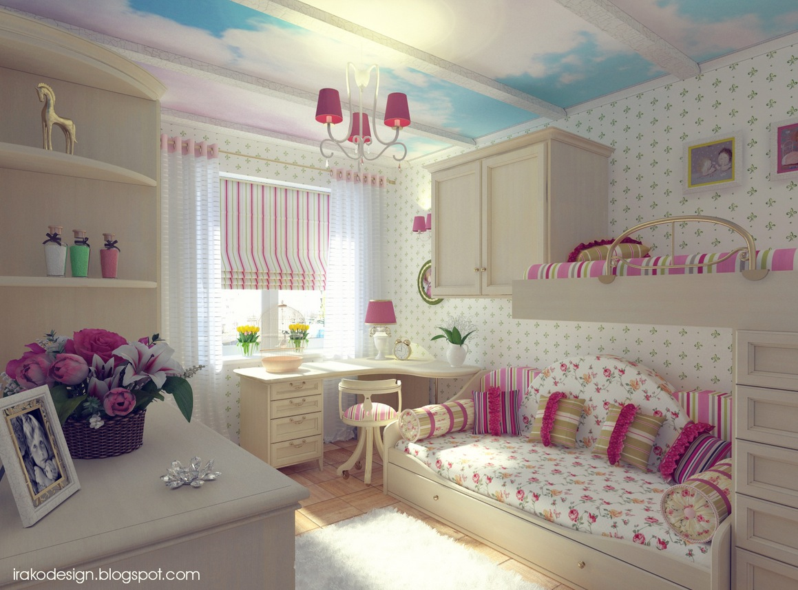 Cute Girls' Rooms on Room Decorations For Girls  id=96484