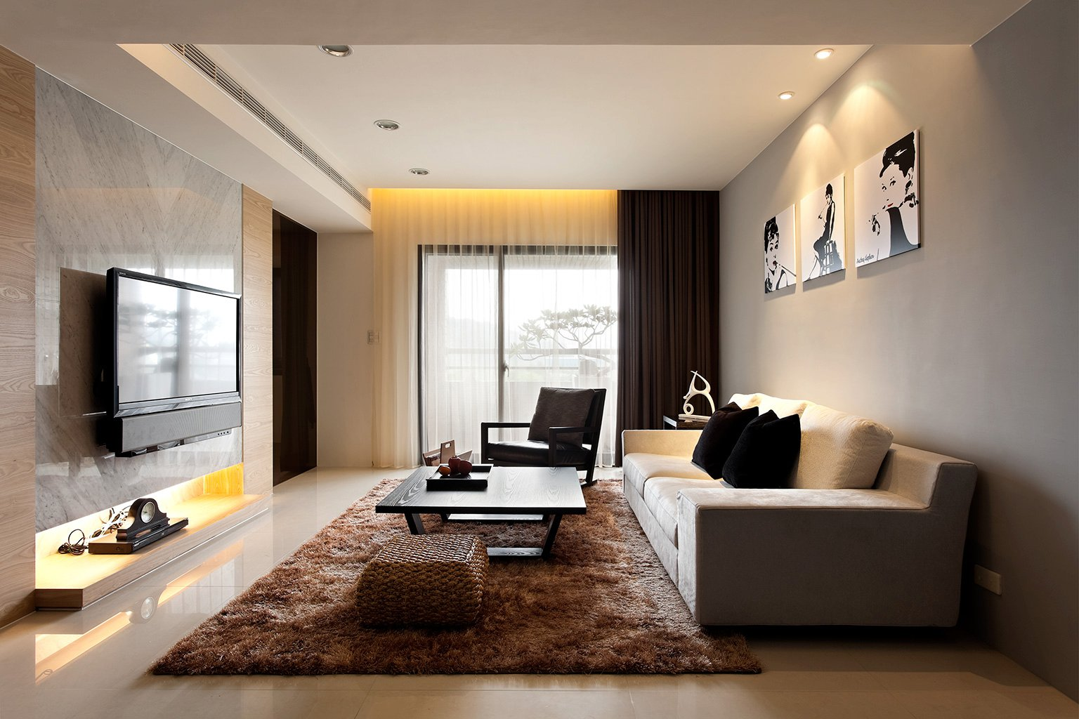 Modern Minimalist Decor with a Homey Flow on Room Decorations  id=71777