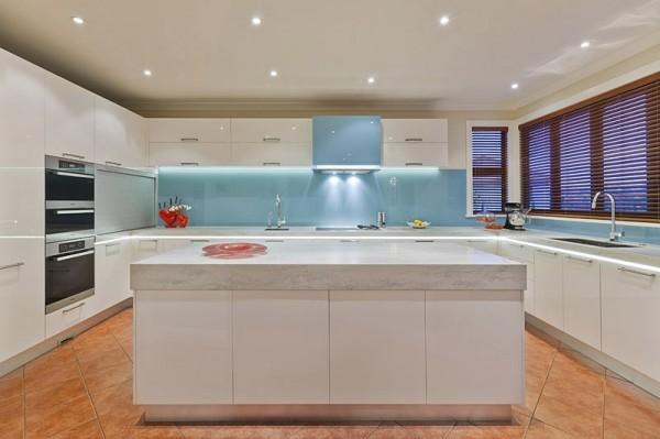 marble modern kitchen