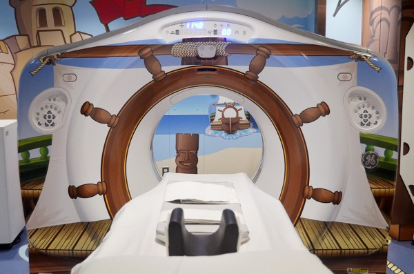 3 Pirate CT scanner