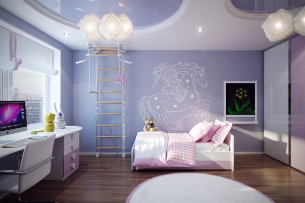Casting Color Over Kids Rooms Interior Design Ideas