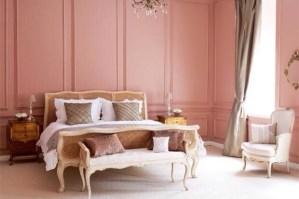 clip:ピンクx白 ベッドルーム