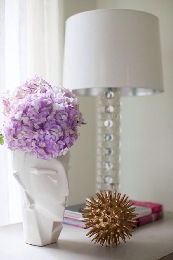 紫陽花を飾る