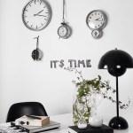 時計を複数飾る