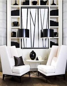 [snap]黒でまとめた飾り棚