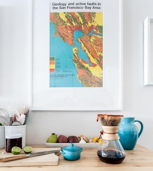 地図を飾る 2