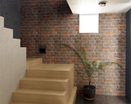 HOME DZINE Home Improvement Clad Your Walls In Brick Veneer