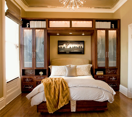 HOME DZINE Bedrooms Storage Ideas For A Small Main Or