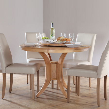 build a round or circular dining table