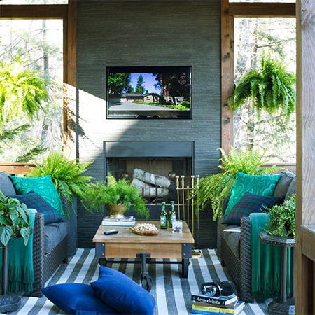 DIY Garden Ideas | Comfortable Outdoor Living Spaces on Garden And Outdoor Living  id=86229
