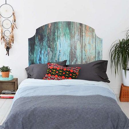 home dzine bedrooms | surprisingly easy diy headboard ideas