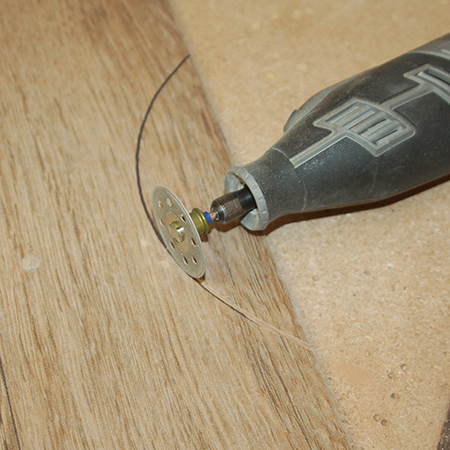 easy method for cutting curves in tiles