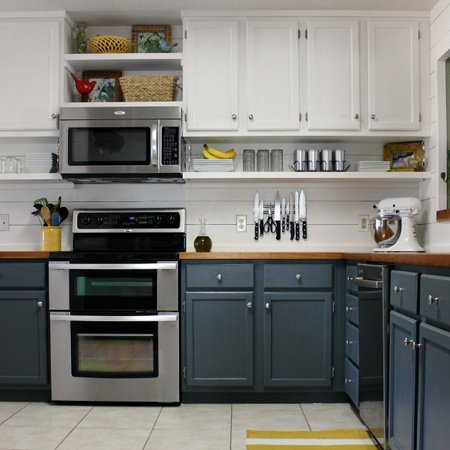 Home Dzine Kitchen Tips For A Painted Kitchen