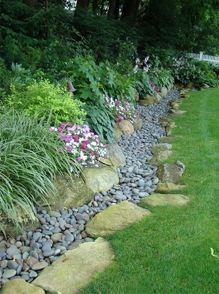 Get creative with edges for borders and beds