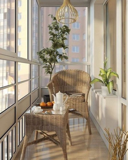 Home Dzine Home Improvement Make More Use Of An Enclosed Balcony