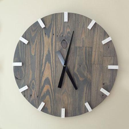 HOME DZINE Home DIY | Make your own Stylish Wall Clocks