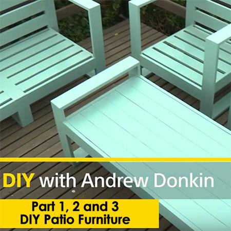 diy patio furniture set
