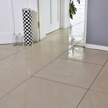 remove and replace a cracked floor tile