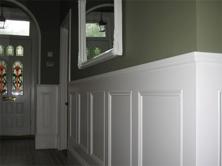 HOME DZINE Home Improvement Add Panelling To A Home