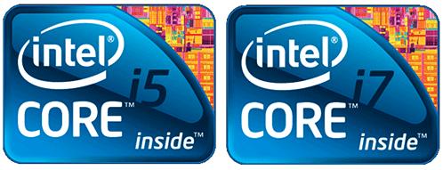 Процессоры Аймак Intel Core i5 и Intel Core i7