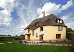 A cob home in the U.K.