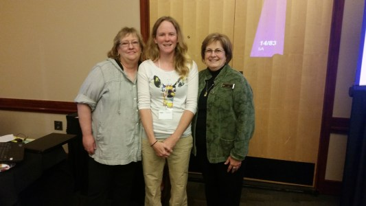 My lactation counselor training instructors, Donna and Sheri.