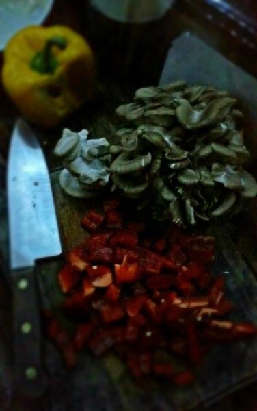 Mushrooms on the menu