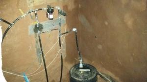 water tank indoor off-grid