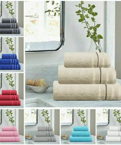 Premium Pure Egyptian Cotton Towel Bale 600 GSM Hand and Bath Towels Bath Sheet