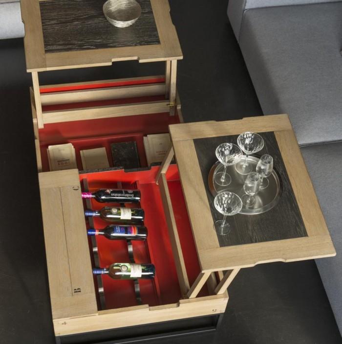 table basse artcopi relevable l140xp80xh39cm
